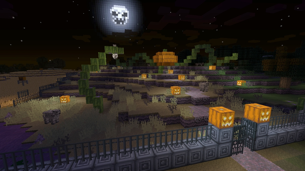 Minecraft gets free Halloween Texture Pack: www.xblafans.com/minecraft-gets-free-halloween-texture-pack-71884.html