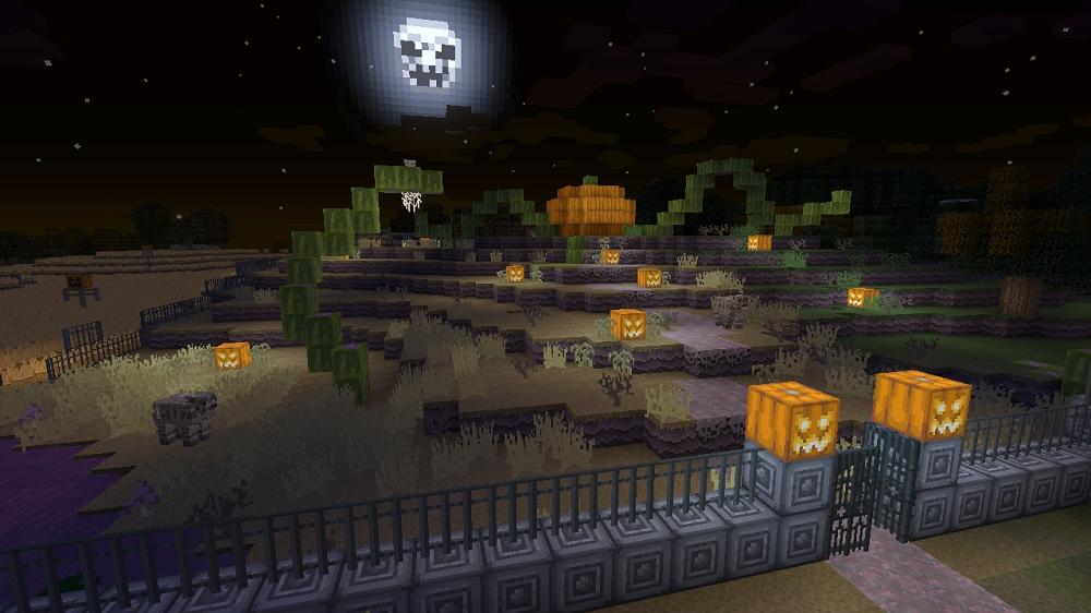 minecraft halloween