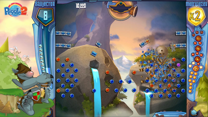 Peggle 2 now available; Warning: No Colorblind Mode or leaderboards