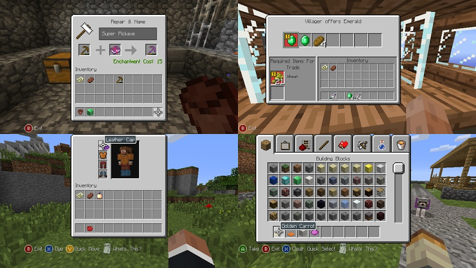 Minecraft TU14 screenshot and details