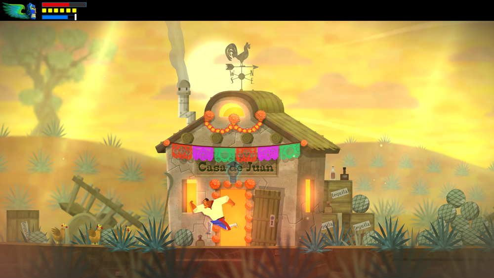 Say hola to Guacamelee: Super Turbo Championship Edition