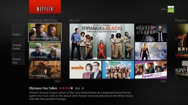 Xbox One Netflix