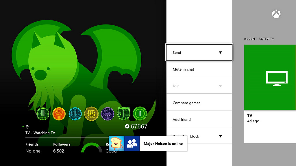 April Xbox One system update will begin rolling out tonight