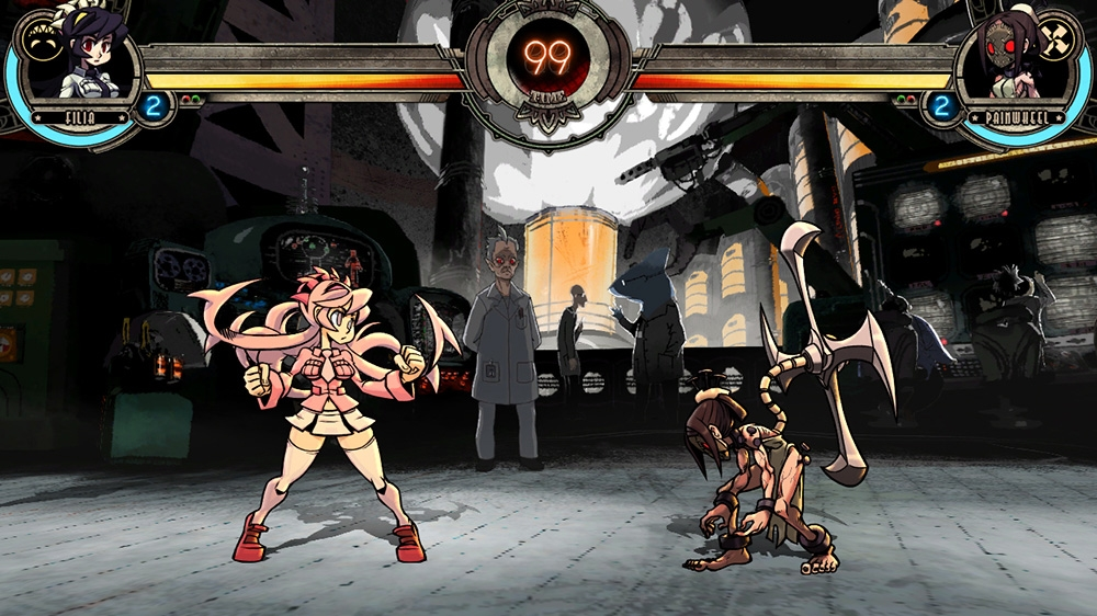 Skullgirls Character Palette Bundle available now for free