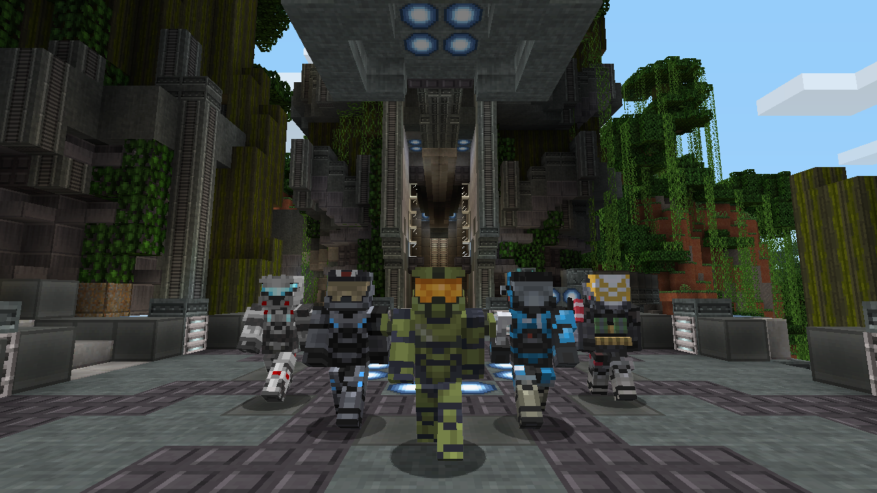 Minecraft Halo Mash-Up Pack lands May 28