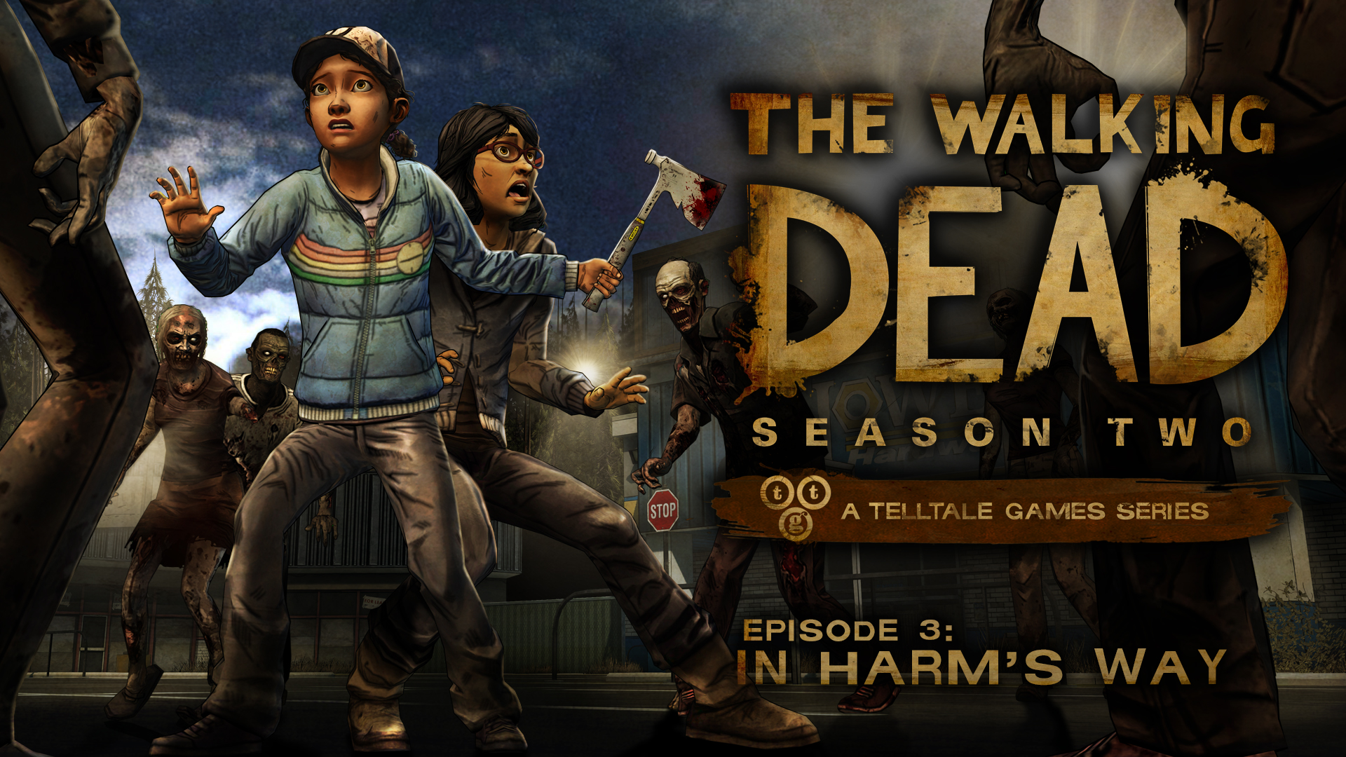 First screens of The Walking Dead: In Harm's Way