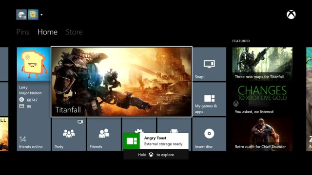 Xbox One External Storage Device Support