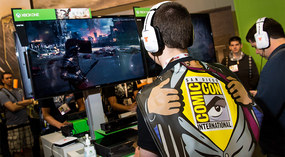 Microsoft unveils San Diego Comic Con lineup