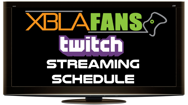XBLAFans Twitch Schedule: Week of 11-3