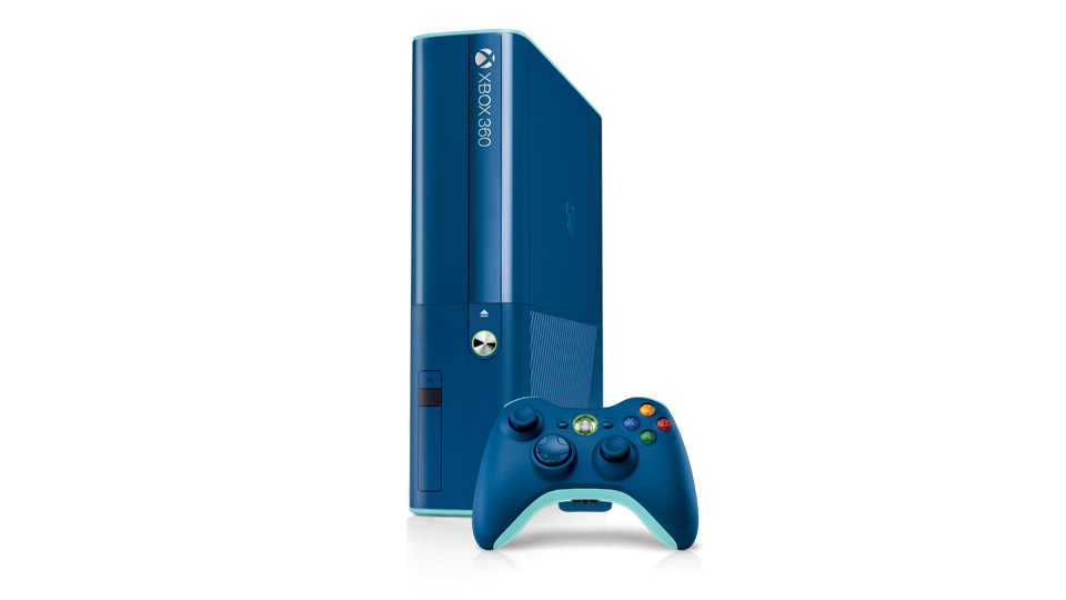 Microsoft announces blue Xbox 360 as part of its 2014 holiday bundles