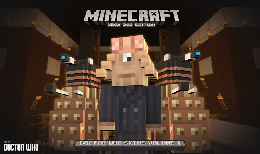 Doctor Who skins now available for Minecraft: Xbox 360 Edition