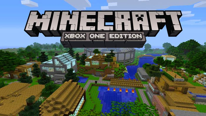 Minecraft Xbox One Edition Cover Art