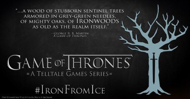 Telltale's Game of Thrones Ironwood Sigil