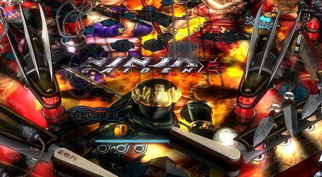 Pinball FX2 Ninja Gaiden Sigma 2 DLC