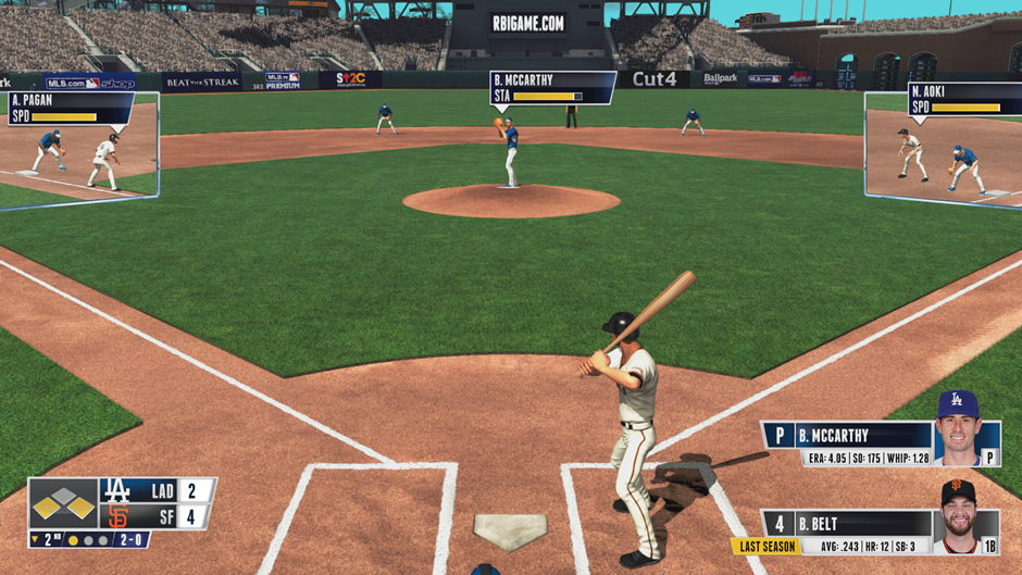 Quick tip: how to force outs in RBI Baseball 15