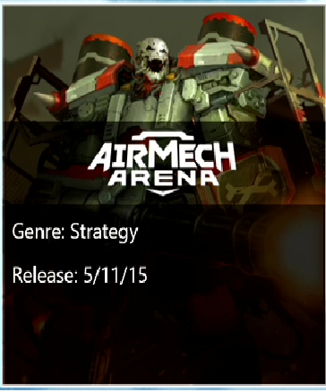 AirMech Arena Xbox One release listed as May 11