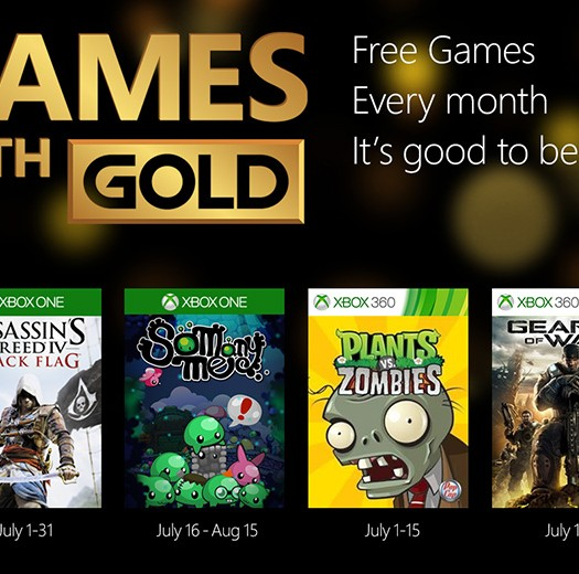 July 2015 Games With Gold