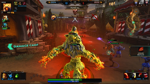 Smite enters open beta on July 8