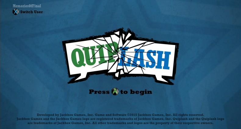 Quiplash TitleScreen