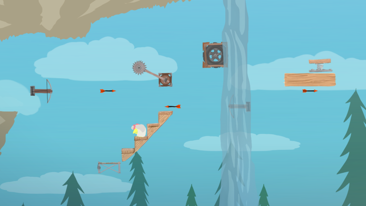 Ultimate Chicken Horse Platform Building