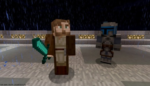 Halloween, Star Wars come to Minecraft, but not Halloween Star Wars
