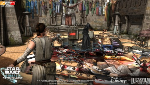 Star Wars Pinball: The Force Awakens review: Kylo Replay