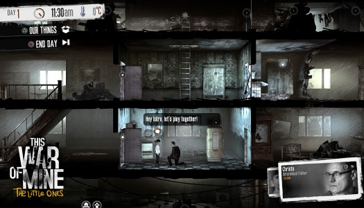 This War of Mine: The Little Ones Review: It's time to rethink war