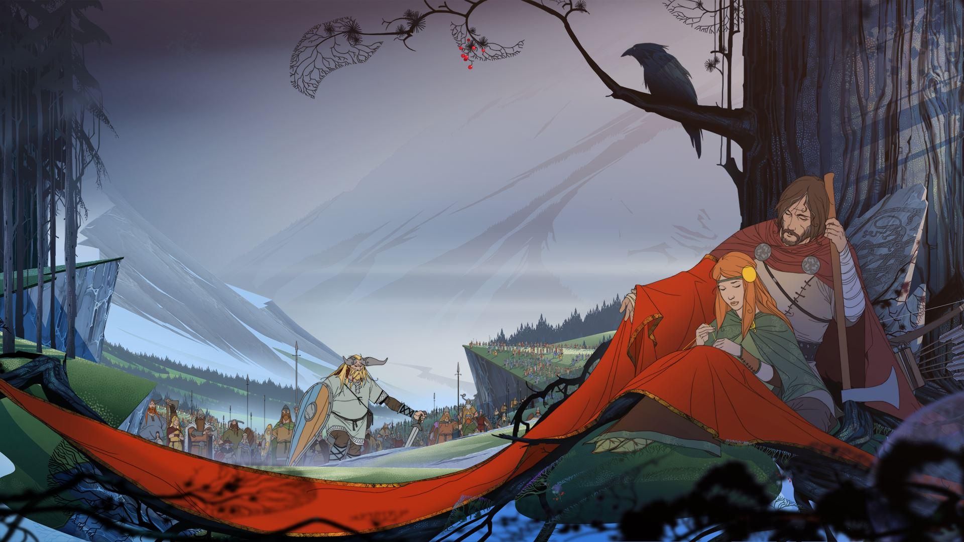 The Banner Saga Wallpaper: Porting The Banner Saga To Consoles Was No Easy Task