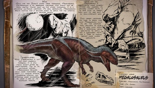 The Megalosaurus is coming to Ark: Survival Evolved