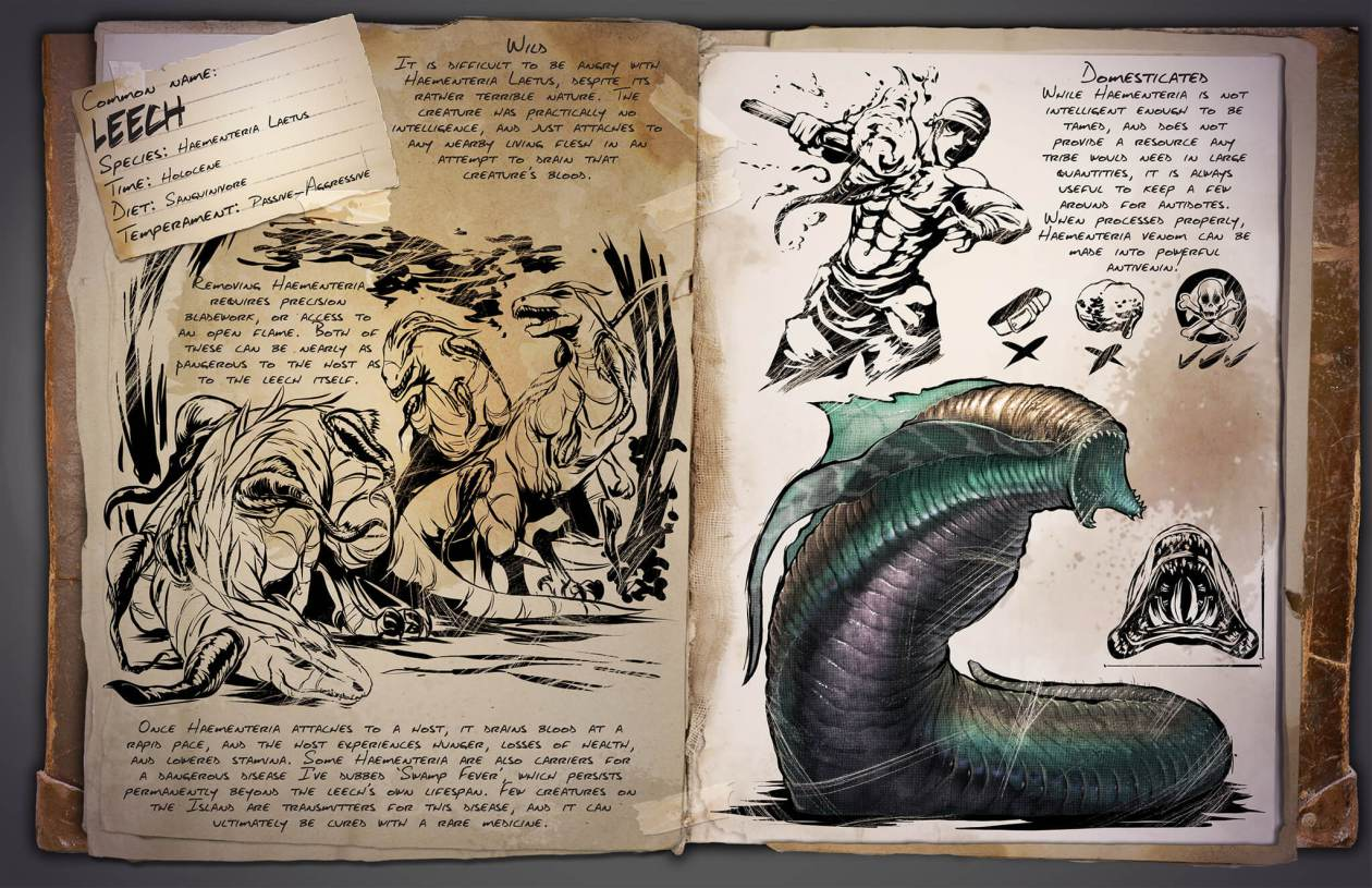 ARK Survival Evolved Getting Leeches amp Sabretooth Salmon