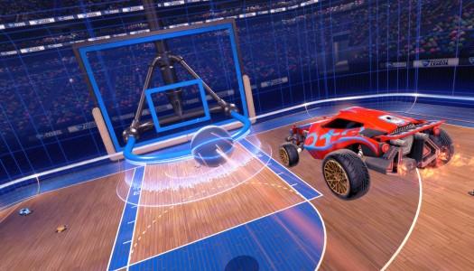 Hoops Mode bouncing onto Rocket League April 26