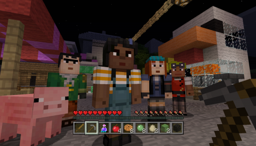 Minecraft gets Minecraft: Story Mode skins