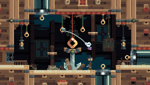 Flinthook preview: A gripping rogue-lite adventure