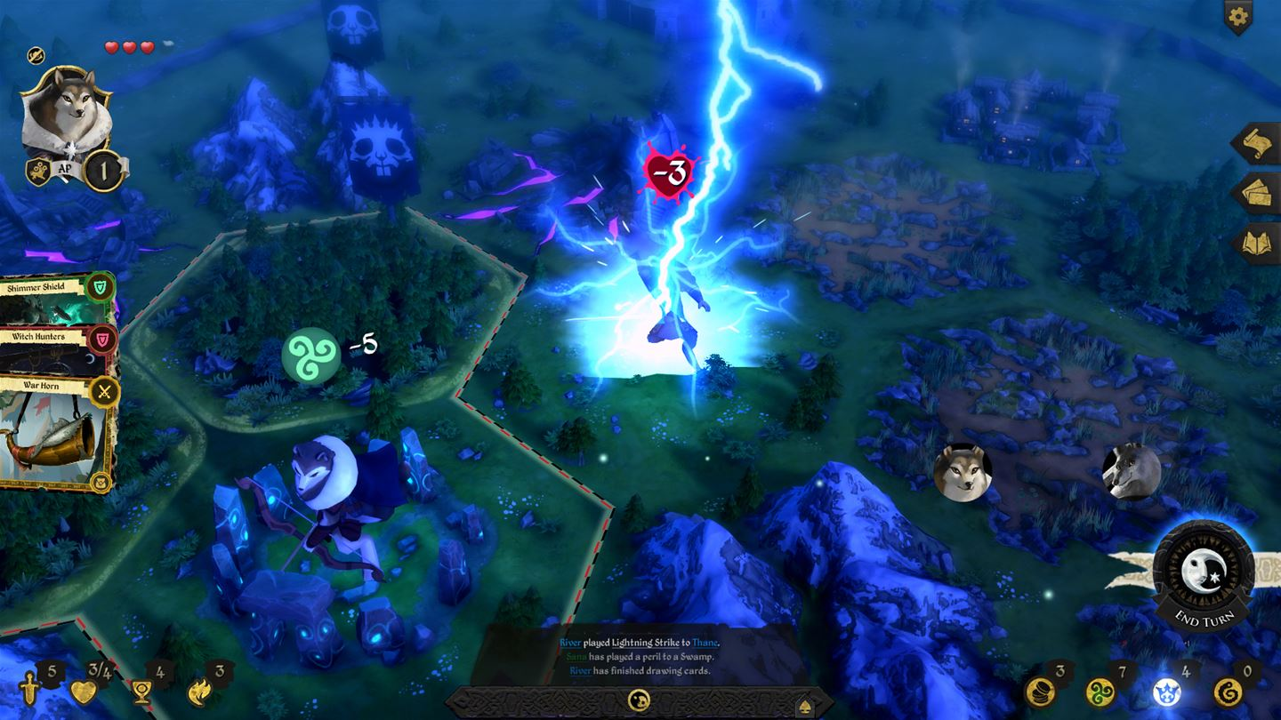 armello review: knights of the kitchen table | xblafans