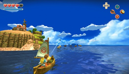 Oceanhorn: Monster of Uncharted Seas Review: An attempted link to the past