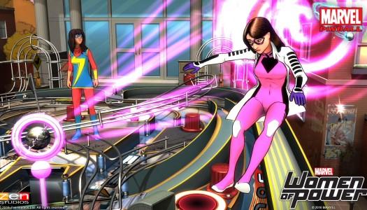 Marvel's Women of Power coming to Pinball FX2