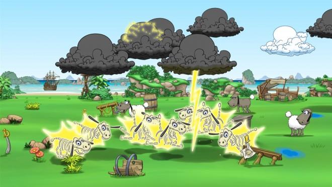Clouds Sheep 2 скачать игру - фото 2