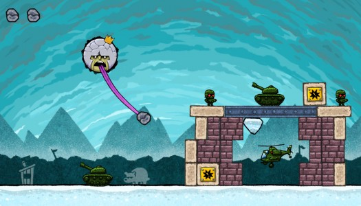 King Oddball review: A stone's throw from entertaining