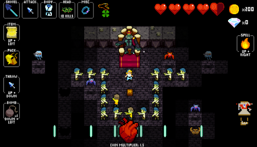 Crypt of the NecroDancer review: King of the dance floor