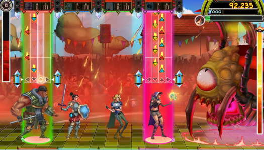 The Metronomicon: Slay the Dance Floor: A rhythm-based RPG