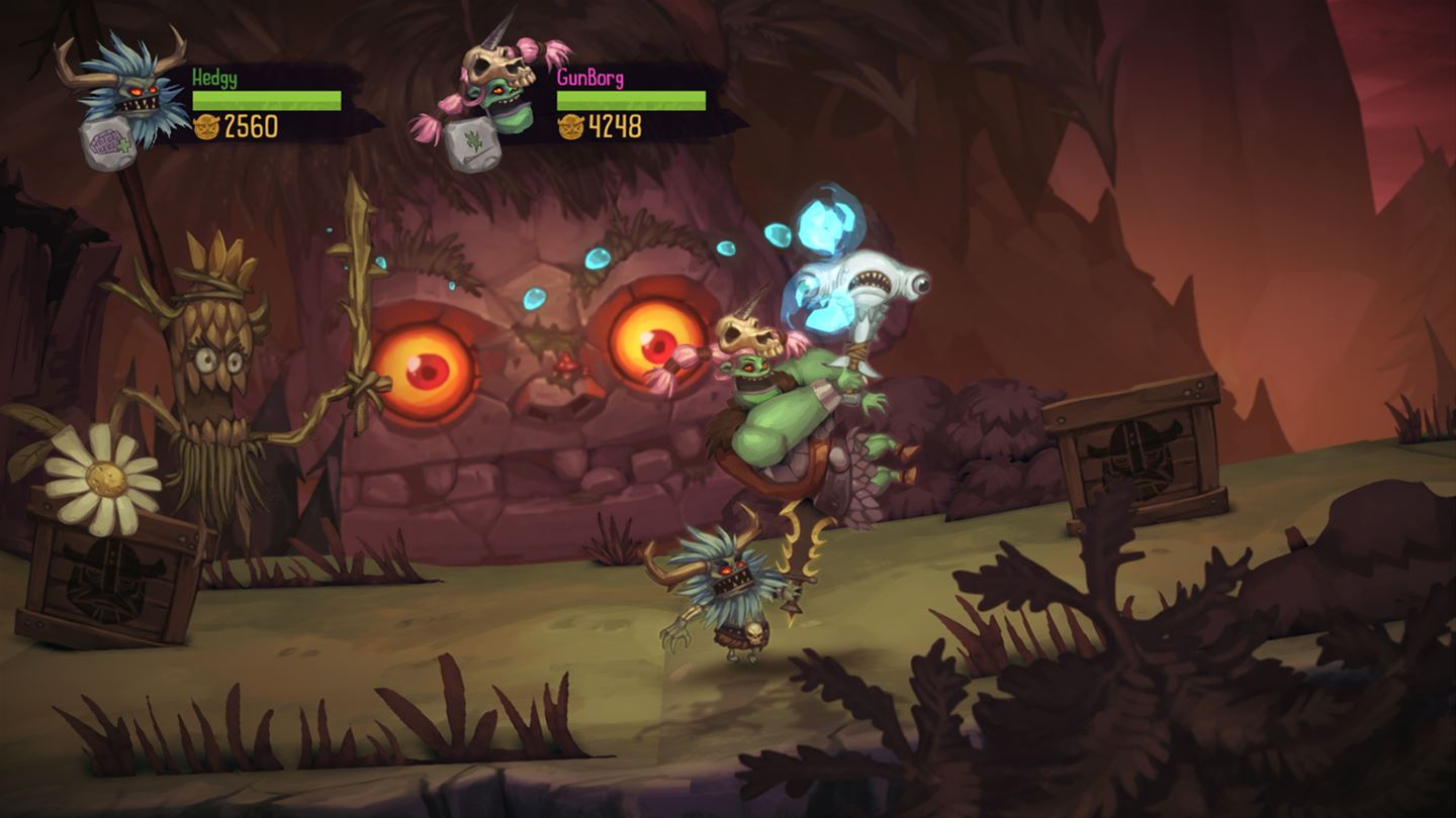 zombie vikings throwing your friend