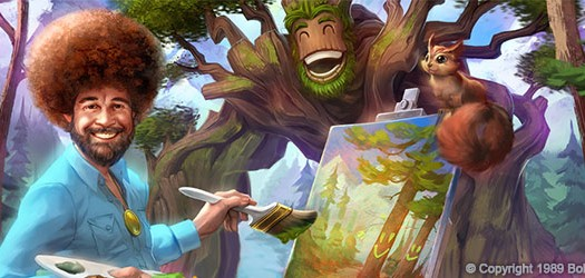 Smite Console Patch 4.8: Bob Ross Edition