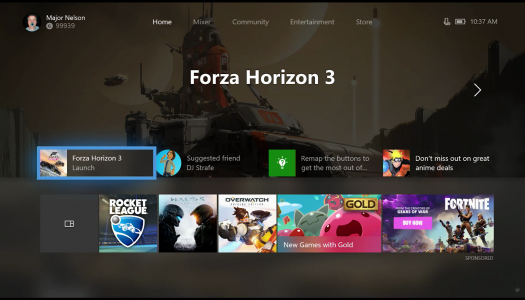 Xbox One Fall Update available now