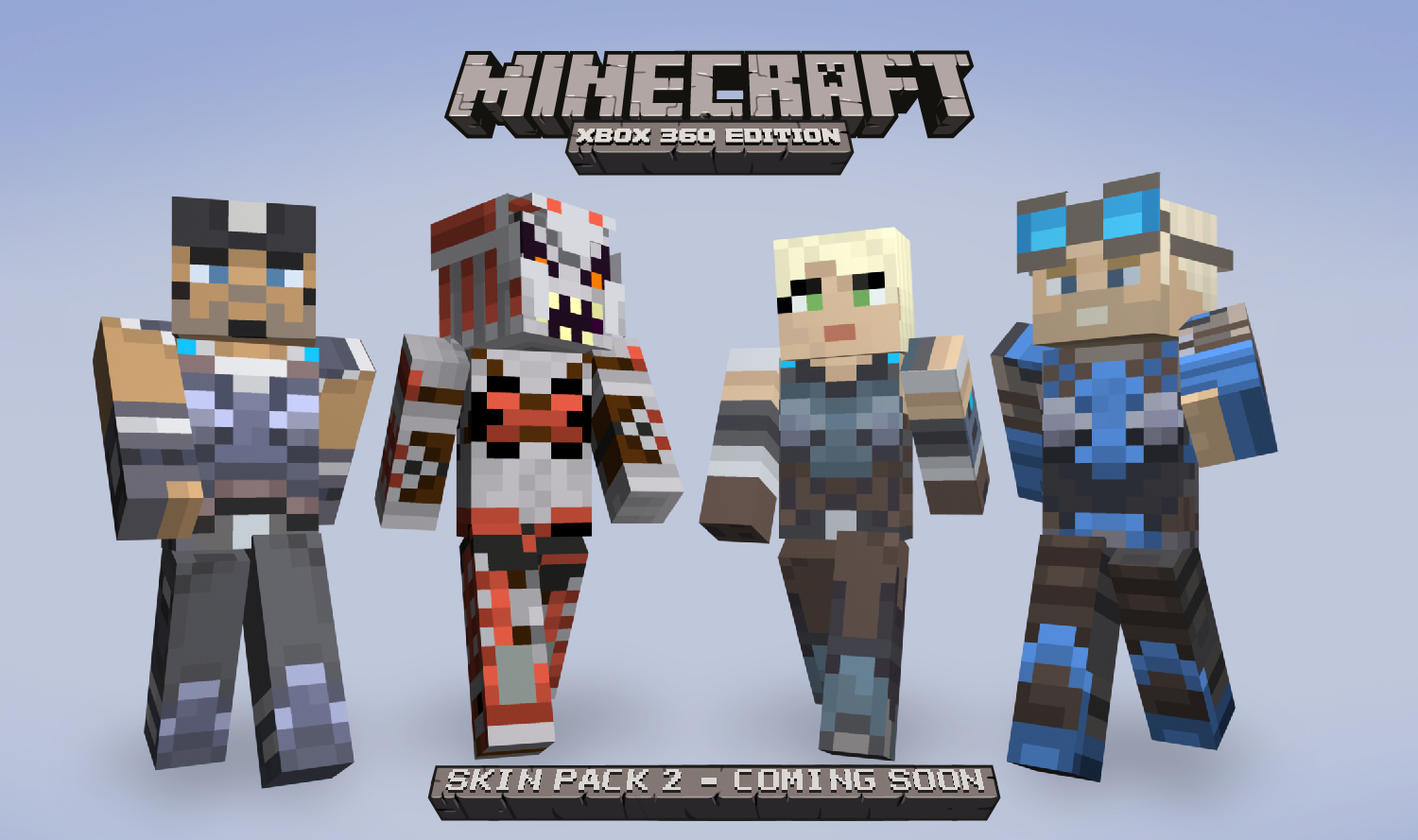 Minecraft Skins Pack Hits Friday XBLAFans - Skins para minecraft ps3 gratis